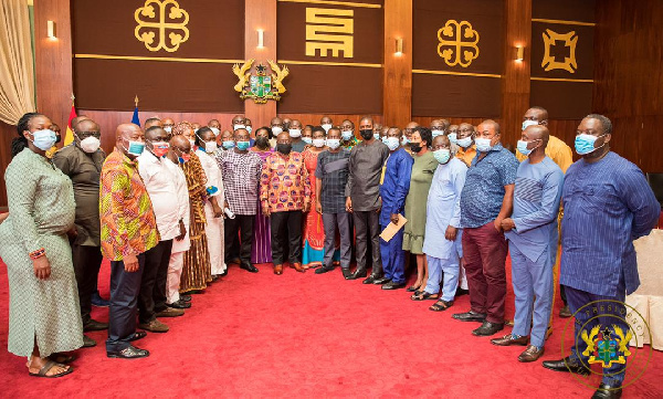 Remain focused and united – Akufo-Addo to NPP