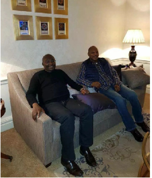 Dr Bawumia with Dr Ibn Chambas
