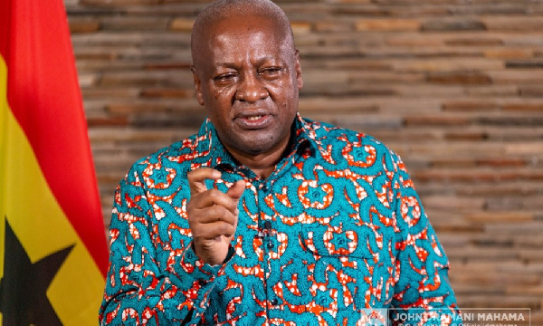 I will build a just and equal society - Mahama