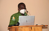 Outgoing Director of the Navrongo Health Research Centre, Dr Abraham Oduro