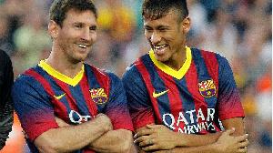 Barcelona da Neymar sun sasanta a tsakaninsu