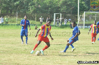 18-year-old William Dankyi featured in Hearts of Oaks 2-2 draw with Liberty Professionals
