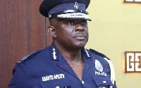 David Asante Apeatu is Inspector General of Police