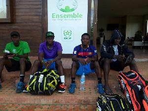 Golden Rackets team