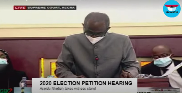 Election Petition: Why 'star witness' Asiedu Nketia's cross-examination was used against the petitioner