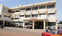 Ridge Hospital in Accra