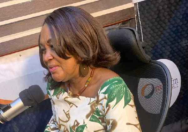 I took inspiration from Nana Konadu Agyemang-Rawlings – Female Vice Presidential Candidate