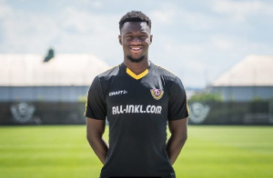 Agyemang Diawusie has played in the U15 and U19 of the German national team