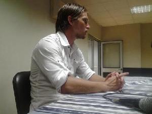Medeama coach Tom Strand