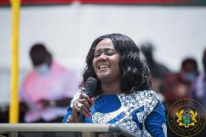 Minister of Tourism, Arts and Culture, Lawyer Barbara Oteng-Gyasi