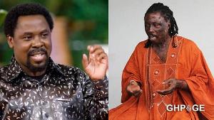 Prophet TB Joshua and Kwaku Bonsam