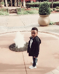Andre, Paul Okoye of Psquare's son