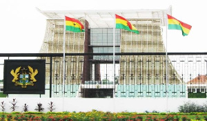 The Jubilee House is the seat of Ghana