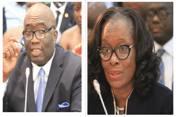 Akufo-Addo drops Joe Ghartey, Gloria Akuffo from his list of ministers