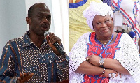 Johnson Asiedu Nketia and Hajia Fati