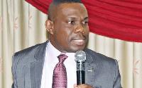Dr Eric Oduro Osae, Dean of Graduate Studies, Institute of Local Government Studies