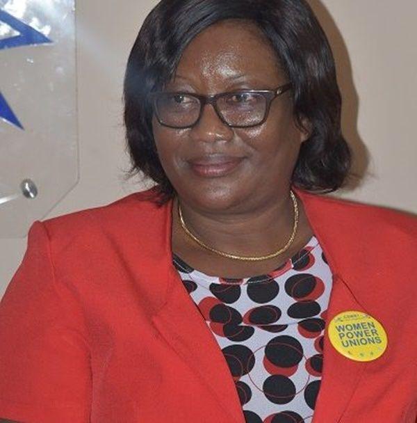 Ghana National Association of Teachers National President, Philippa Larsen