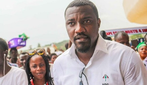 John Dumelo was elected parliamentary candidate for the Ayawaso West Wuogon Constituency