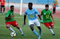 Cosmos Dauda  has scored his maiden goal for Al-Faisaly