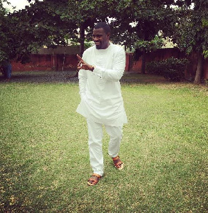 John Dumelo posted this picture yesterday