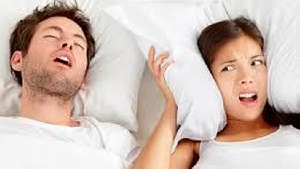 Snoring is a problem for some people in relationships