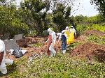 Coronavirus burial team 'overwhelmed' by death toll