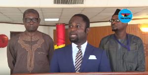 Member of Parliament for Juaboso Constituency,  Kwabena Mintah Akandoh