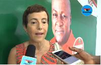 Diana Acconcia, European Union (EU) Ambassador to Ghana