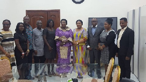 Rebecca Akufo-Addo, First Lady of Ghana (Fourth from right)