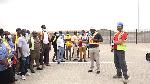 Staff Unions of GPHA visit Kpone Unity Terminal