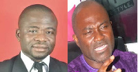 Michael Ampong and Kennedy Agyapong