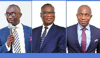 Dr Kwame Baah Nuako, Dr KK Sarpong, Dr Patrick Ofori