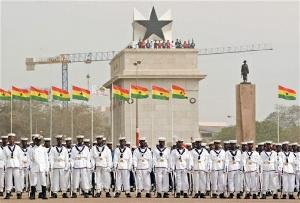 Ghana Navy Indece Square
