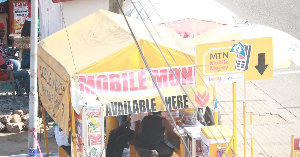 File photo: The robbers later bolted with an unspecified amount of money after shooting the vendor