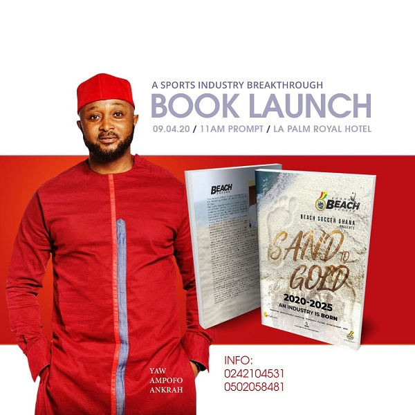 Yaw Ampofo Ankrah to launch book on Beach Soccer