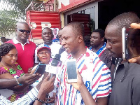 Constituency first Vice Chairman of the NPP, Akwasi Afrifa-Mensa