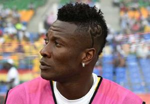 Asamoah Gyan, Black Stars striker