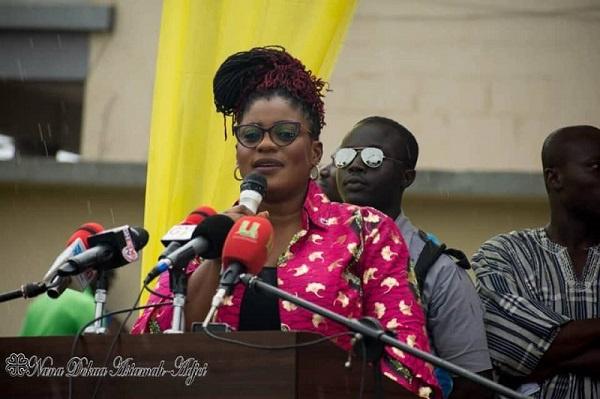 Deputy Information Minister, Nana Ama Dokua Asiamah Adjei