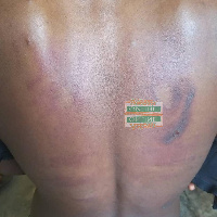 The beauty pageant was allegedly tortured in a shrine over a missing GHC500