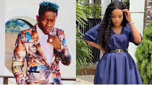 Dancehall musician Shatta Wale and Metro TV presenter Jackie