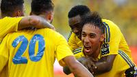 Gabon players