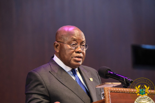 Exclusive constitutional responsibility to compile register rests with EC - Akufo-Addo