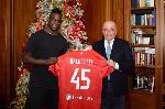 Mario Balotelli has joined Italian Serie B side A.C Monza
