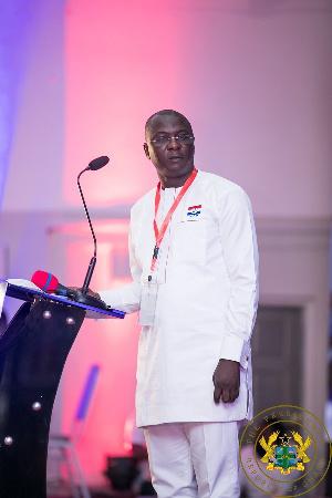 Deputy Minister for Energy, Dr. Amin Adam