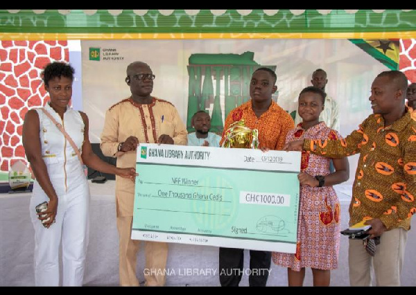 Western Region wins Ghana Library's National Reading Competition