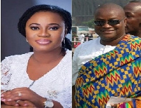 Charlotte Osei, EC Chairperson and Hassan Ayariga