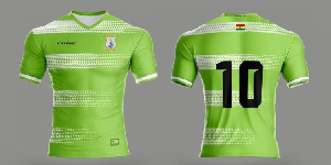 The proposed kit for Vision FC