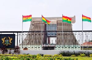 Flagstaff House Presidential Palace Ghana Accra