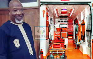 Allotey Jacobs said the ambulances will help improve healthcare delivery in the country