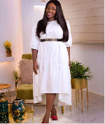 Emelia Brobbey is here to show us how to dazzle in a white outfit